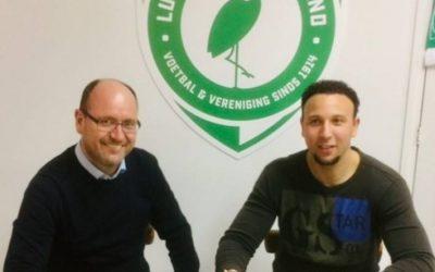 Contract met Giovanni Siereveld officieel ondertekend