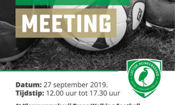 Walking Football Meeting bij Luctor Heinkenszand