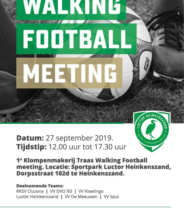 Walking Football Meeting bij Luctor Heinkenszand