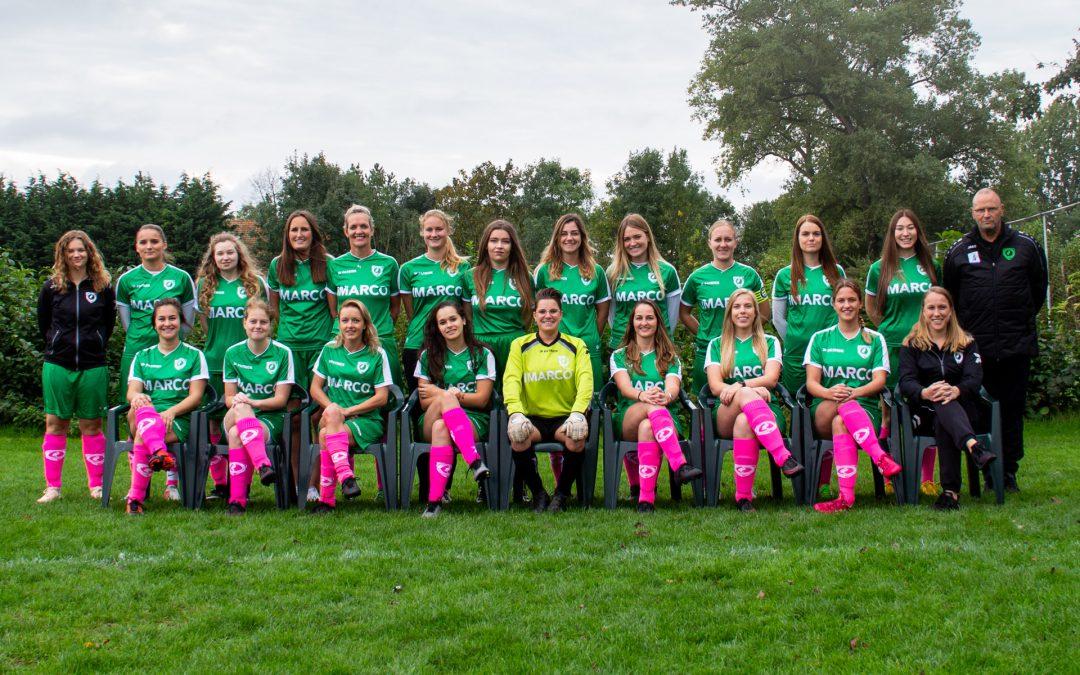 Teamfoto's seizoen 2019-2020 online