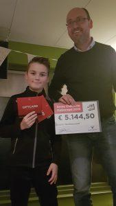 Marco Utermark met de winnaar