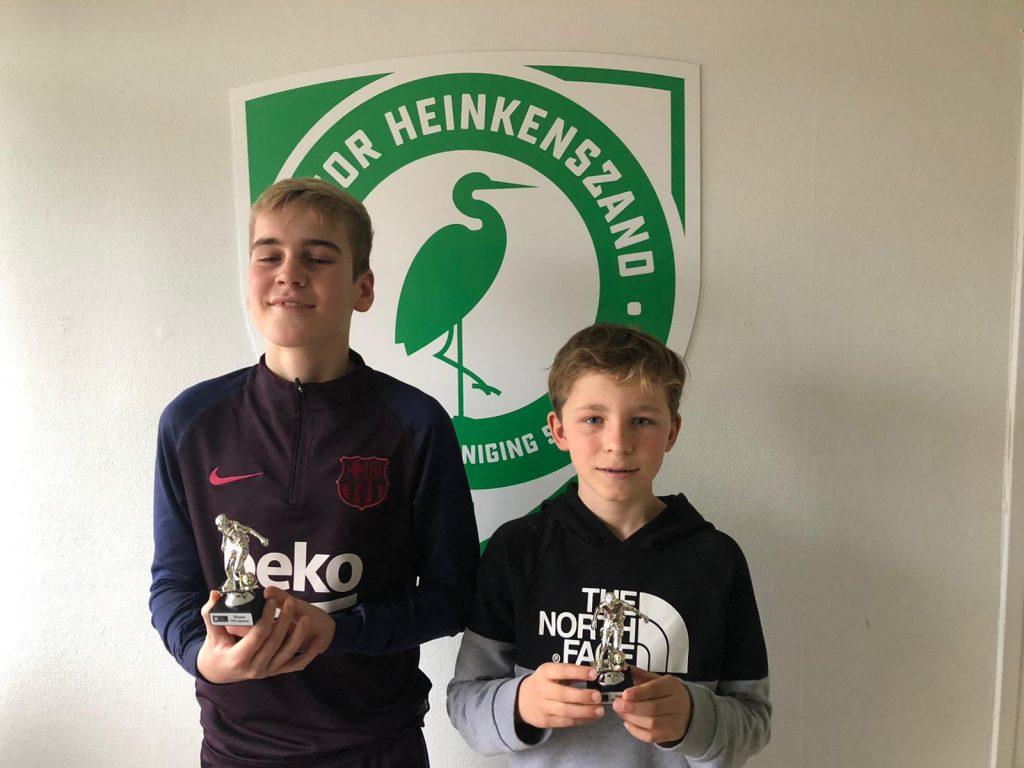 Lukas Poelman en Seb van Zaltbommel wonnen in de kantine Fifa20.