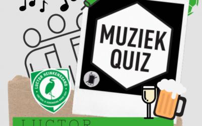 De eerste Luctor Heinkenszand Kantine Muziek Quizzz op vrijdag 13 maart!