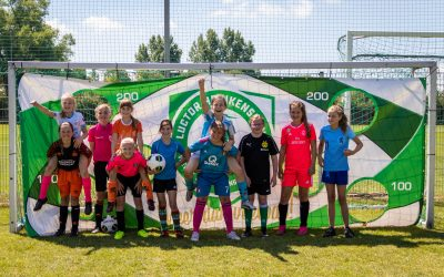 Clinic meidenvoetbal groot succes