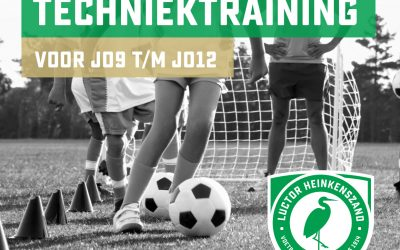Techniektrainingen in oktober en november