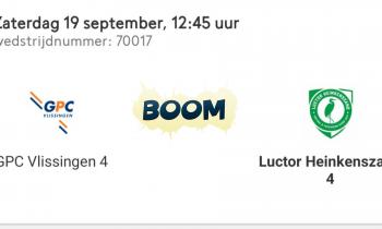 GPC Vlissingen 4 – Luctor Heinkenszand 4