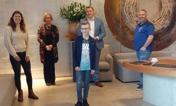 Kris Rottier is de eerste kinderburgemeester van Borsele, ook Doortje in top 3