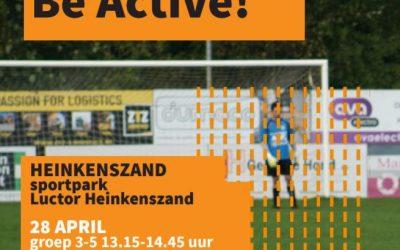 Be Active! in de meivakantie
