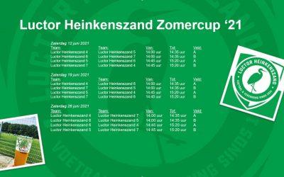 Schema Luctor Heinkenszand Zomercup '21