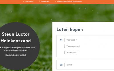 KNVB organiseert een amateurvoetballoterij en wij doen mee!