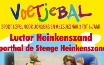 Voetjebal Luctor Heinkenszand: voetbal en gym op een speelse manier
